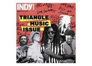 Cover of Indy Week's 2019 Triangle Music Issue