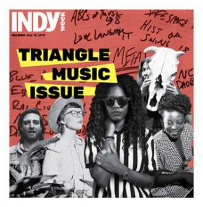 Cover of the 2019 Triangle Music Issue Issue of Indy Week