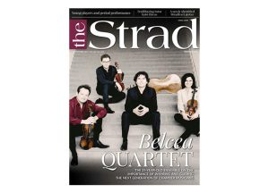 Cover of September 2019 issue of The Strad
